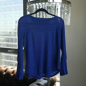 Marc Jacobs blue long sleeve shirt